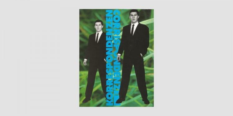 KORRESPONDENZENCORRISPONDENZE-Dodici-artisti-di-Firenze-e-di-Berlino-copertina-del-catalogo