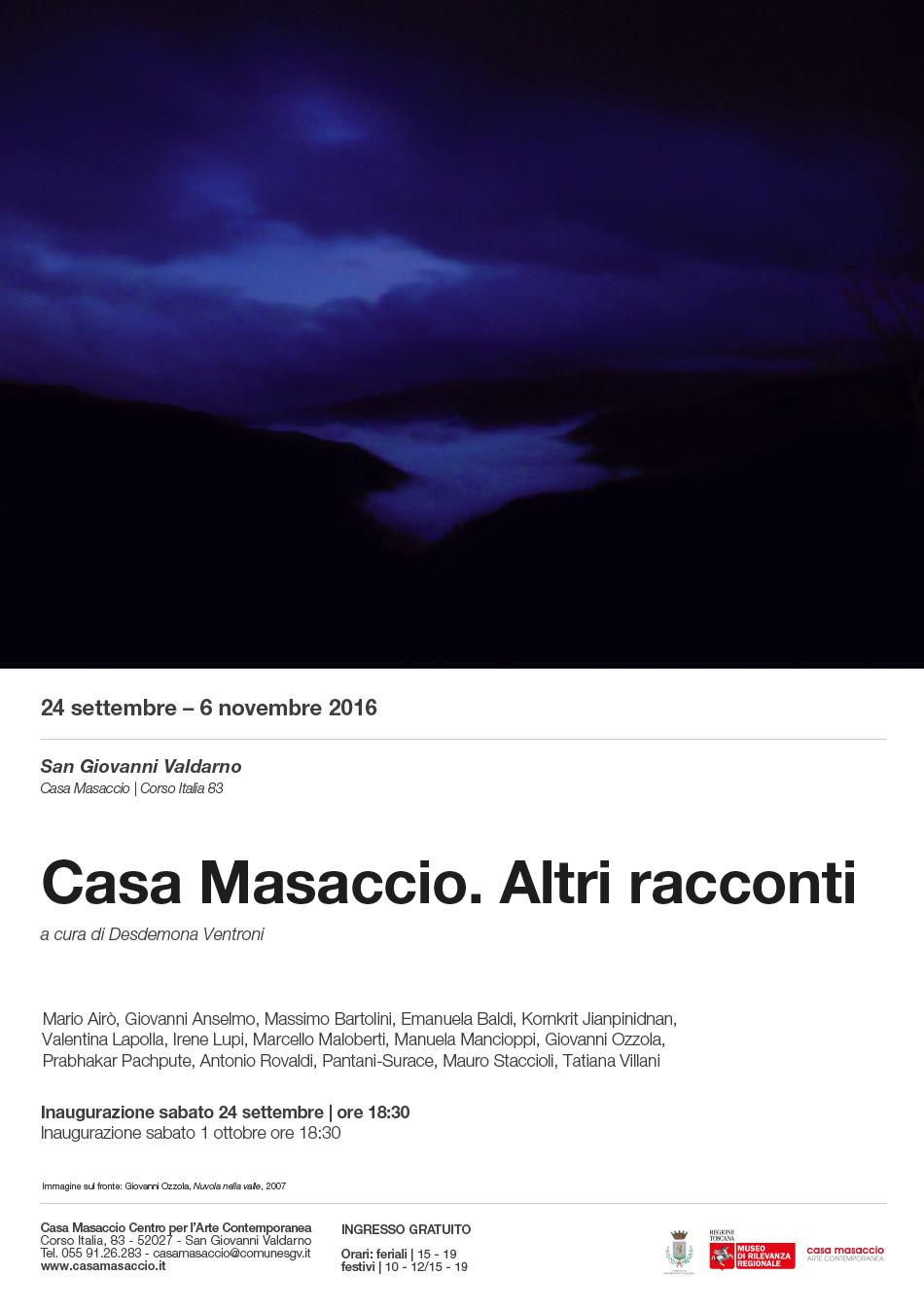 GiovanniOzzola, Nuvola nella valle, 2007