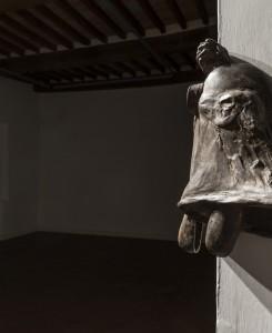 24. Enzo Cucchi, Senza titolo, 2017, bronzo, 46x26x28 cm circa. Courtesy dell'Artista. Particolare. Foto OKNOstudio