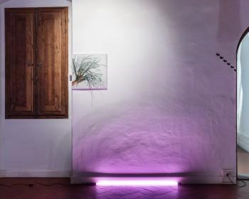 10_Cinzia Ruggeri, Casa Masaccio Centro per l'Arte Contemporanea, installation view living room, first floor entrance on the right side, ph OKNOstudio