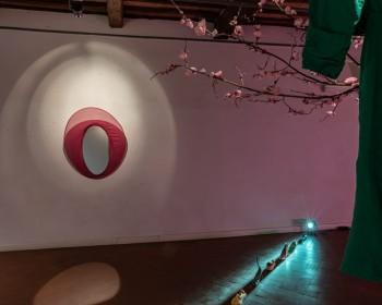 13_Cinzia Ruggeri, Casa Masaccio Centro per l'Arte Contemporanea, installation view living room, first floor entrance on the right side, ph OKNOstudio