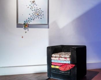 16_Cinzia Ruggeri, Casa Masaccio Centro per l'Arte Contemporanea, installation view living room, first floor entrance on the right side, ph OKNOstudio