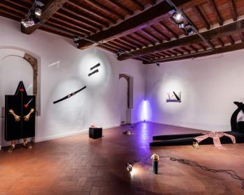 34_Cinzia Ruggeri, Casa Masaccio Centro per l'Arte Contemporanea, installation view sleeping room, first floor entrance on the left side, ph OKNOstudio