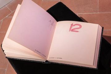 35_Cinzia Ruggeri, Agenda, 1985, custom-made notebook, 25 x 25 x 5 cm c.a., ph OKNOstudio