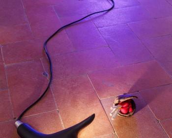 36_Cinzia Ruggeri, Casa Masaccio Centro per l'Arte Contemporanea, installation view sleeping room, first floor entrance on the left side, ph OKNOstudio