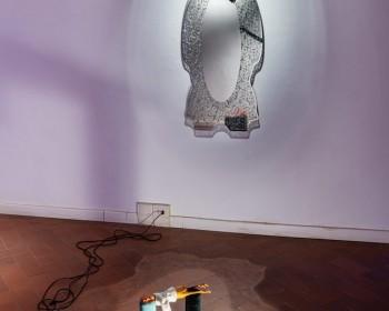 40_Cinzia Ruggeri, Casa Masaccio Centro per l'Arte Contemporanea, installation view sleeping room, first floor entrance on the left side, ph OKNOstudio