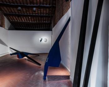 44_Cinzia Ruggeri, Casa Masaccio Centro per l'Arte Contemporanea, installation view loft, second floor, ph OKNOstudio