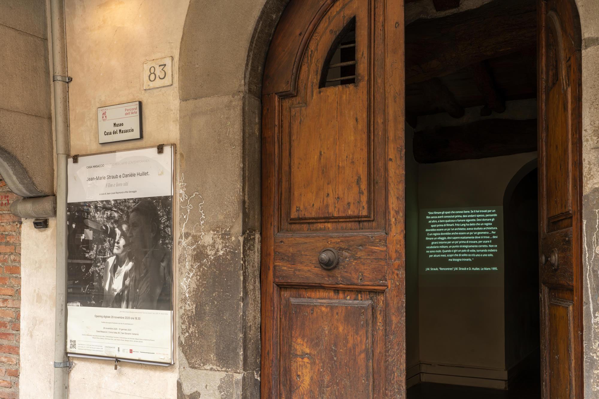 1_Casa Masaccio Centro per l'Arte Contemporanea, outside, ph OKNOstudio