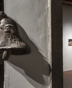 22. Entro dipinta gabbia. Enzo Cucchi, Enrico David. Casa Masaccio centro per l'arte contemporanea. Exhibition view. Foto OKNOstudio