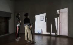22_Lee Kit, Linger on, your lit-up shade, Casa Masaccio Centro per l'Arte Contemporanea. Veduta della mostra. Foto OKNOstudio.