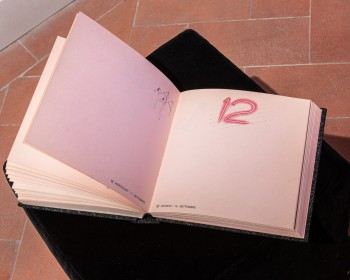 35_Cinzia Ruggeri, Agenda, 1985, custom-made notebook, 25 x 25 x 5 cm c.a., ph OKNOstudio