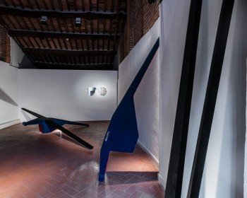 44_Cinzia Ruggeri, Casa Masaccio Centro per l'Arte Contemporanea, installation view loft, second floor, ph OKNOstudio